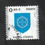 Sellos del Mundo : Europa : Estonia : Escudo de la ciudad de Narva-Joesuu