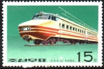 Stamps : Asia : North_Korea :  LOCOMOTORAS.  TREN  ELÉCTRICO