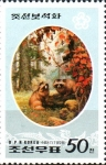 Stamps : Asia : North_Korea :  MAPACHES
