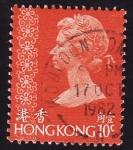 Sellos del Mundo : Asia : Hong_Kong : Isabel ll