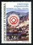 Stamps Spain -  ANDORRA: Madriu-Perafita-Claror Valley