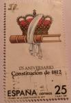 Sellos del Mundo : Europa : España :  175 aniversario constitución de 1812
