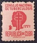 Sellos del Mundo : America : Cuba : CUBA, TUBERCULOSIS CAMPAIGN, 1950, 1 c