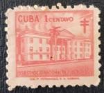 Sellos de America - Cuba -  CUBA, TUBERCULOSIS CAMPAIGN, 1958, 1 c
