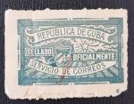 Sellos del Mundo : America : Cuba : Official PO seal,