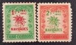 Sellos de America - Cuba -  Navidades Set, 1c & 2c, 1951