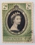 Sellos de America - Jamaica -  Queen Elizabeth II Coronation, 1953