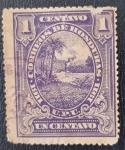 Sellos del Mundo : America : Honduras : Correos de Honduras, 1 c, 1911