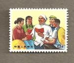 Sellos de Asia - China -  Libro rojo de Mao