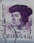 Sellos del Mundo : Europa : España : Juan de juni 1507-1577