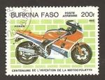 Sellos del Mundo : Africa : Burkina_Faso : 694