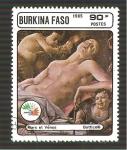 Sellos de Africa - Burkina Faso -  749C