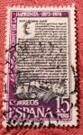 Stamps : Europe : Spain :  5° centenario de la imprenta 1974