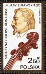 Stamps Poland -  Henryk Wieniawski