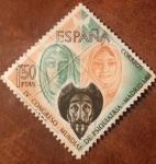 Stamps : Europe : Spain :  IV congreso mundial de psiquiatría--Madrid 1966