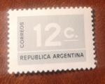 Stamps : America : Argentina :  República argentina