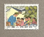 Stamps Asia - China -  Vacunando niños