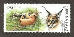 Stamps Burkina Faso -  1081
