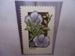 Sellos de America - Estados Unidos -  Wildflower: Wild Flax - Lino Salvaj