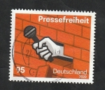 Sellos del Mundo : Europa : Alemania :  Libertad de Prensa
