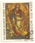 Sellos de America - Ecuador -  IV Congreso eucaristico nacional. Asuncion de la Virgen. Padre Vargas.