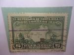 Sellos de America - Costa Rica -  Isla del Coco - Carabelas de Colón.