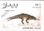 Sellos de Africa - Marruecos -  reptiles