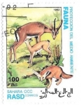 Stamps : Africa : Morocco :  medio ambiente