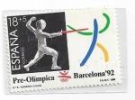 Sellos del Mundo : Europa : España : 3025 - Pre-Olimpicos Barcelona'92