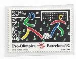 Sellos del Mundo : Europa : España : 3026 - Pre-Olimpicos Barcelona'92