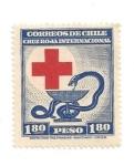 Stamps Chile -  Cruz Roja Internacional