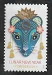 Stamps America - United States -  Año Lunar Chino