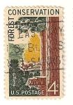 Stamps : America : United_States :  Proteccion de la naturaleza y de los espacios naturales.