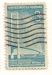 Stamps : America : United_States :  Puente de Mackinac. Michigan