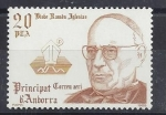 Stamps : Europe : Andorra :  1985 - Obispo Ramón Iglesias