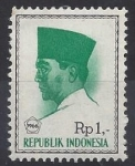 Stamps : Asia : Indonesia :  1966 - Sukarno II
