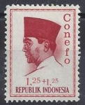 Stamps : Asia : Indonesia :  1966 - Sukarno III