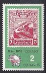 Stamps : America : Nicaragua :  1974 - Setenta y cinco años comunicaciones