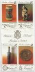Stamps : Europe : Spain :  3115A_D - Patrimonio Nacional Porcelana y Cerámica