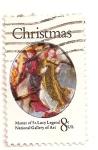 Stamps United States -  Navidad 1972. Anunciacion de Maria.
