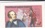 Stamps : Africa : Equatorial_Guinea :  ROWLAND HILL (LONDON 1980)