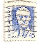 Stamps United States -  Americanos ilustres. Doctor Harvey Cushing.