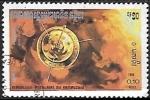 Stamps : Asia : Cambodia :  Viajes Espaciales