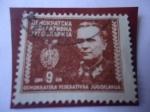 Sellos del Mundo : Europa : Yugoslavia : Mariscal Josep Broz Tito (1892-1980) - Mariscal Tito.