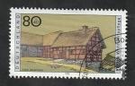 Sellos del Mundo : Europa : Alemania :  1651 - Granja típica de Eifel