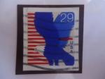 Sellos del Mundo : America : Estados_Unidos : Aguila - serie: 1991-1994