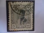 Sellos del Mundo : Asia : Irán : Reza Shah Pahlavi (1878-1944)-retrato en un óvalo mirando a la Izquierda.