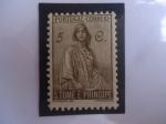 Sellos de Europa - Portugal -  CERES-Mitología (Diosa de Agricultura) - República Democrática de Santo Tomé y Príncipe