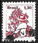Sellos de America - Brasil -  Profesiones - vendimiador