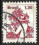 Sellos del Mundo : America : Brasil : Profesiones - vendimiador